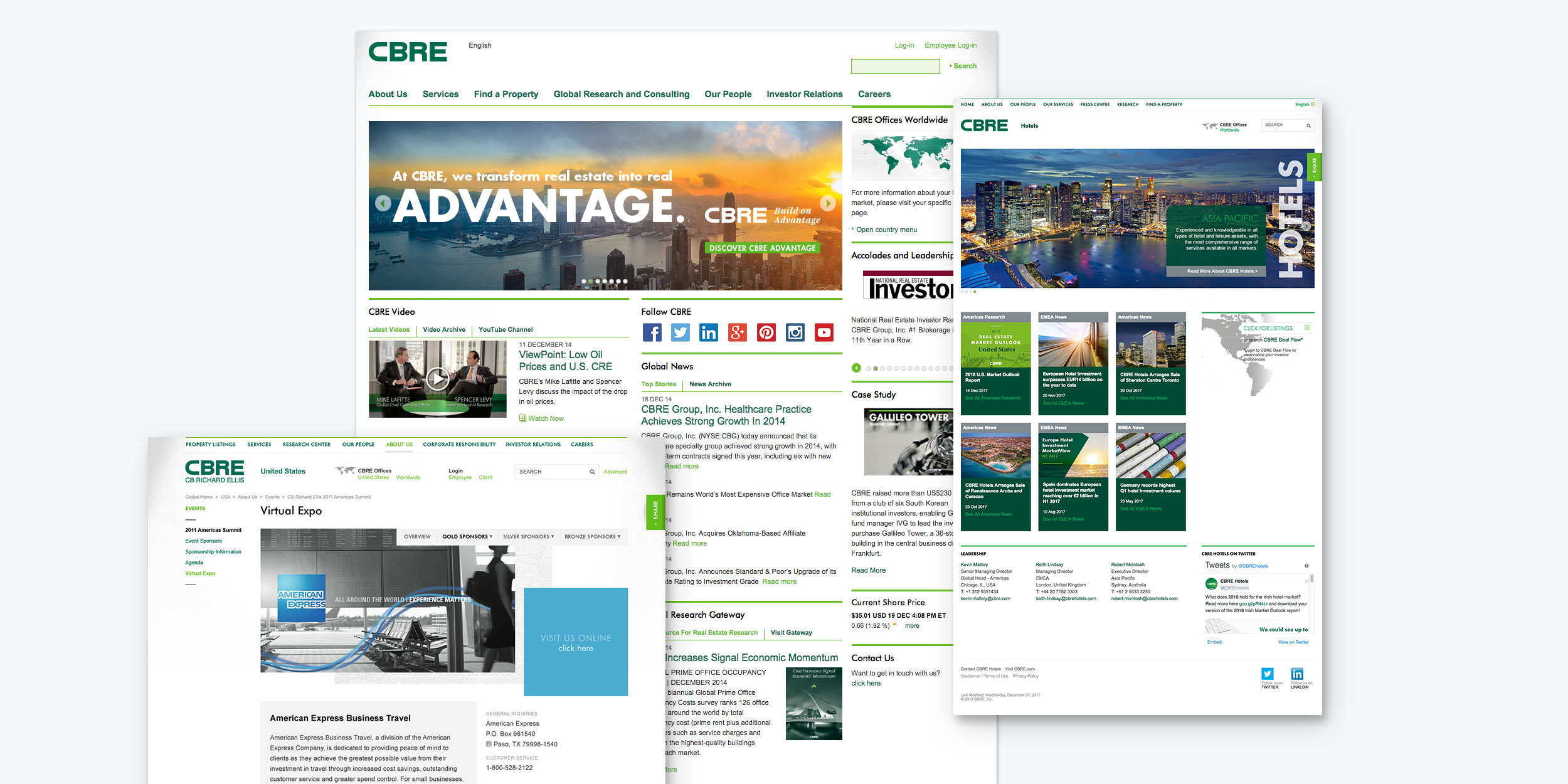 CBRE digital design system
